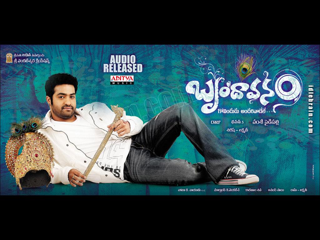 movies,music,downloads: Download Jr.NTR Brindavanam Songs MP3 2010