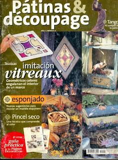 Patinas y Decoupage Nro. 4