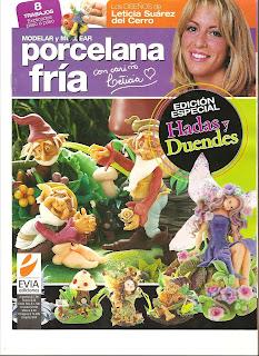 Revista: Modelar y Modelar Porcelana Fría - Hadas y Duendes