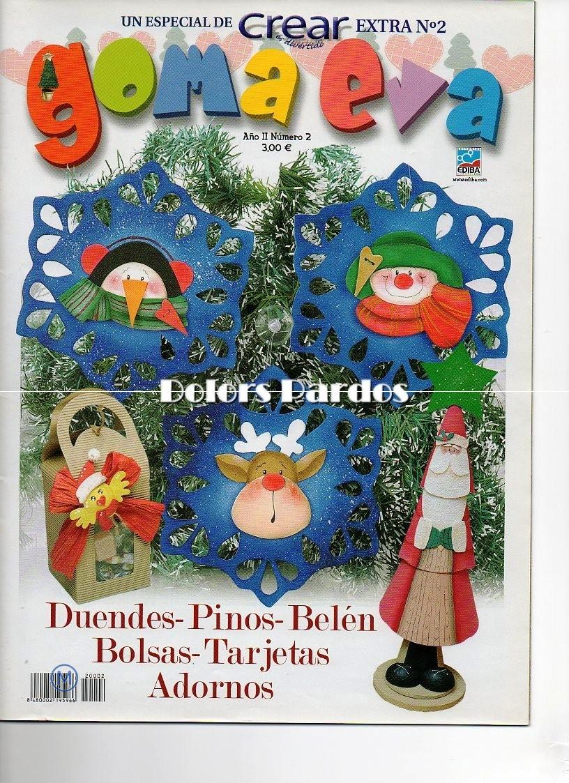 Revista: Crear extra No. 2. Goma Eva