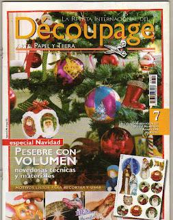 Decoupage Especial Navidad Nro. 7