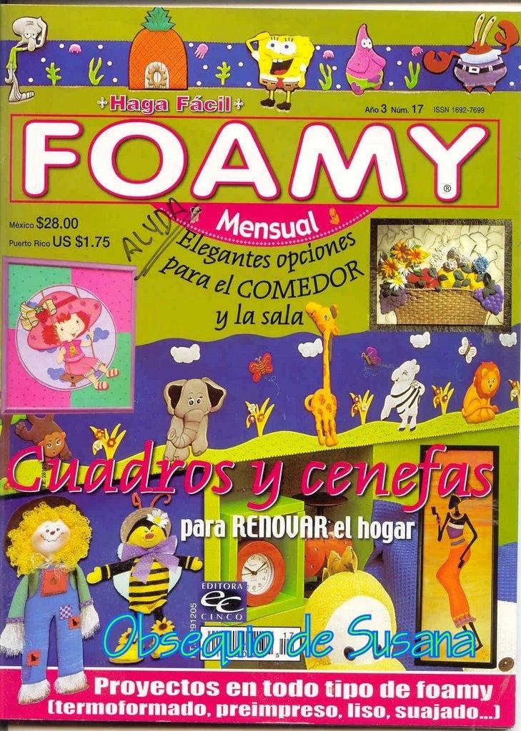 Revista: Haga fácil No. 17. Foamy