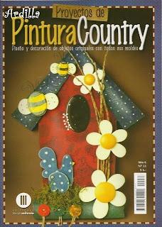 Pintura Country Nro. 33