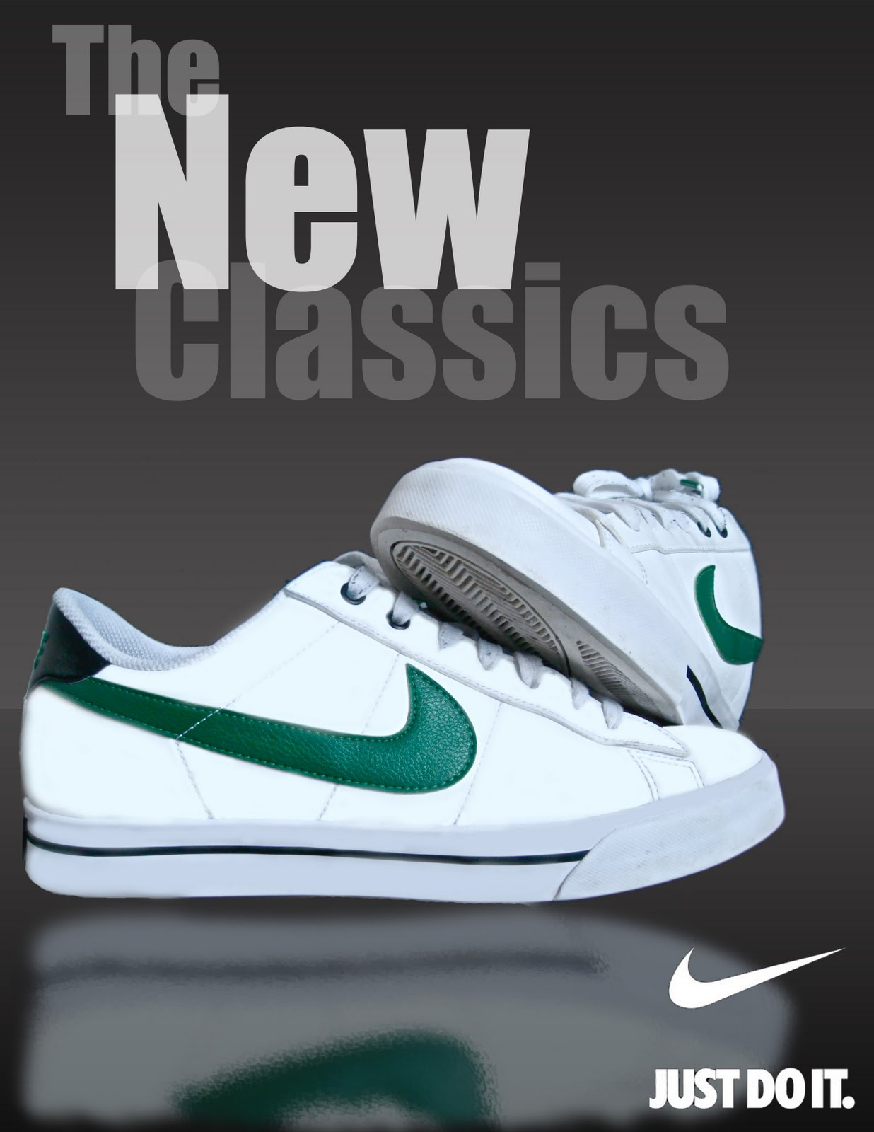 Gallery 91 Inc.: Nike Shoe Magazine Advertisement