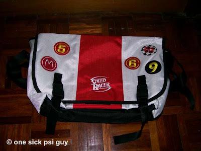 SR shoulder bag .. many compartments