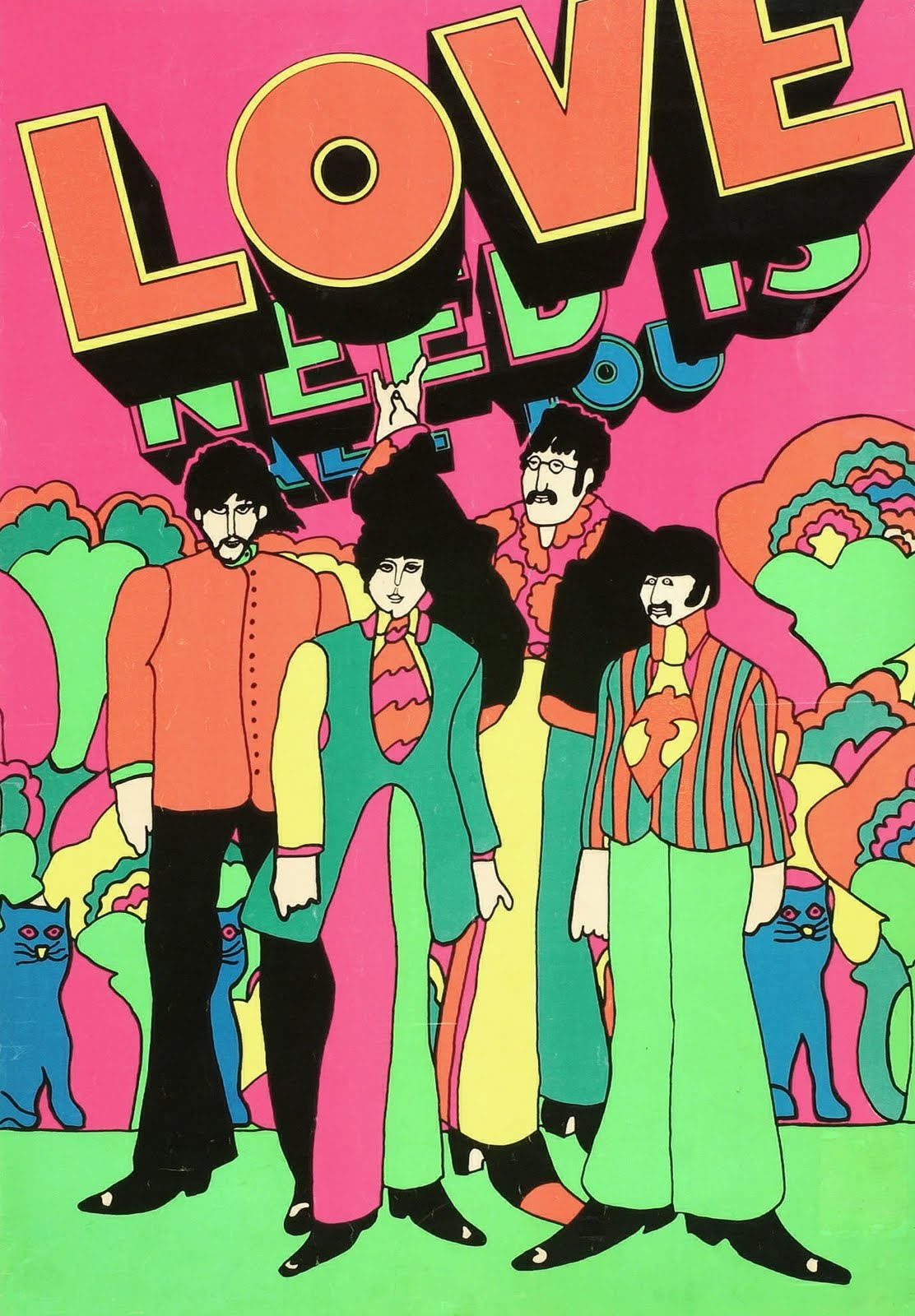 Film: YELLOW SUBMARINE on Pinterest | Yellow Submarine ...