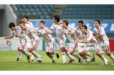 Selección Sub-17 durante el Mundial de 2007