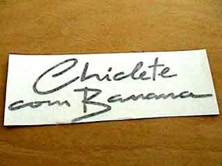 Chiclete com Banana Estacao das Cores 1983 | músicas