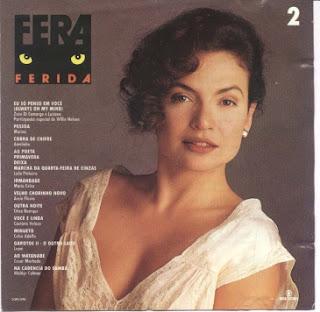 Trilha da Novela Fera Ferida Vol 1 e Vol 2 | músicas