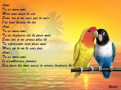 Poeme sur les rencontre