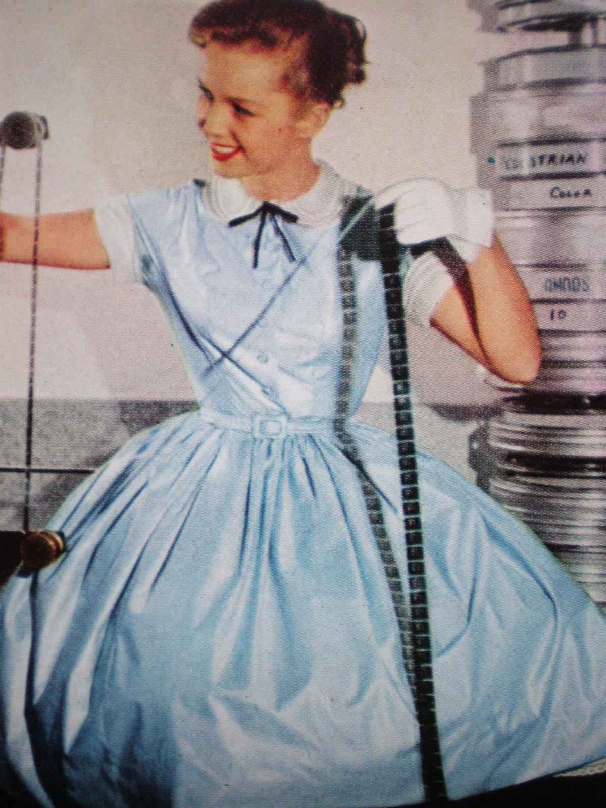 95351c61fa45 1950 s Vintage Dress Styles  Sew Summer Dresses Now! Liz Taylor Janet Leigh  Debbie Reynolds
