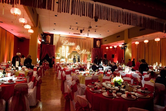 They Chose To Have White Chair Covers And Red Sashes The Color In Chinese Cultural Traditions Is Ociated With Hiness Success Honor