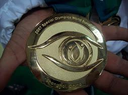 Medalla dorada Juegos Mundiales Shanghai-China