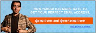 Daftar alamat baru email yahoo !!!