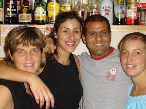 Els cambrers del Cafè del Mar de l'Escala