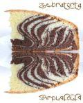 Zebratorta