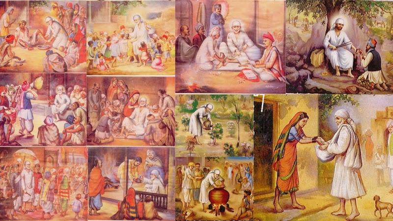 Shirdi Sai Baba's Philosophy about Food - Part 1   Shirdi Sai Baba