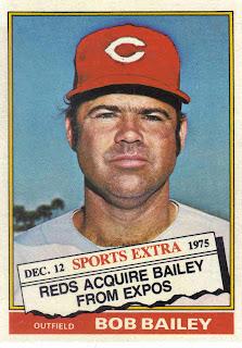 Project Baseball 1976 1976 Topps Traded 338t Bob Bailey