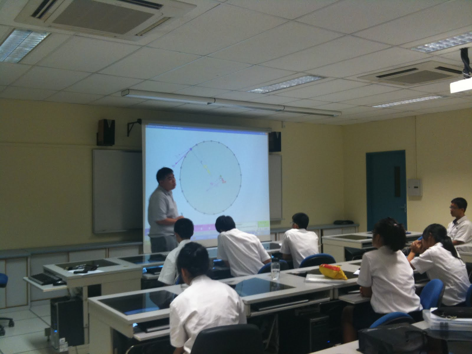 Open Source Physics Singapore Lesson On Circular Motion With Acjc Using Concept Mapping July