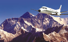 Mountain flight of nepal
