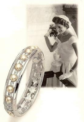 Luxurious Wedding Style Report The Wedding Bracelet Worn By Jackie