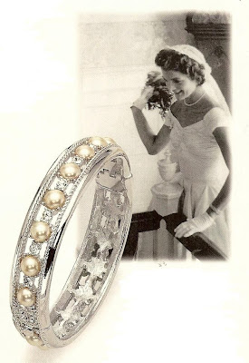 A Stunning Replica Of Jacqueline Kennedy S Wedding Bracelet Designed By Jfk And Jackie Together Before Their Newport In 1953