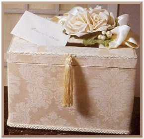 Luxurious wedding style report a couture money box to for How to decorate a money box