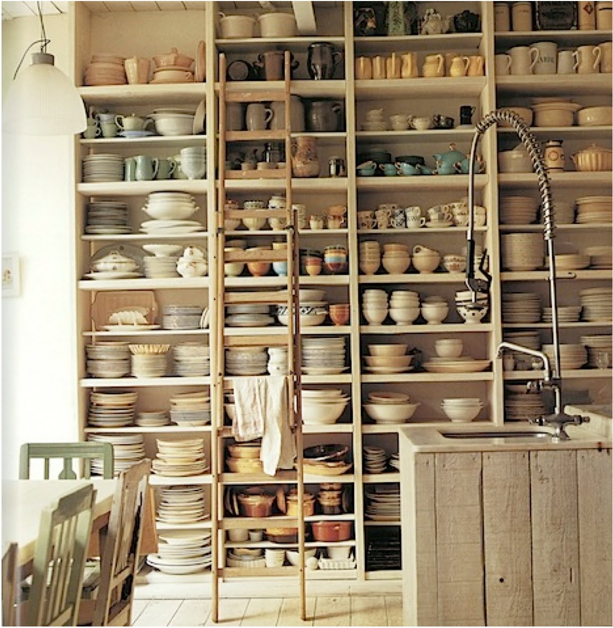 Anthropologie Style Kitchen