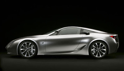 Lexus Will Show Off A Model Penger Supercar 2 Tokyo Motor In 2009 What Kind Of Car Many People Are Estimated As Lf That Have Been Exhibited At