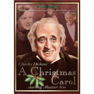 Alister Sims Christmas Carol.Rooftop Reviews A Christmas Carol With Alistair Sim 1951