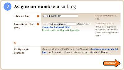 Cómo crear un blog en Blogger paso a paso y facil 3