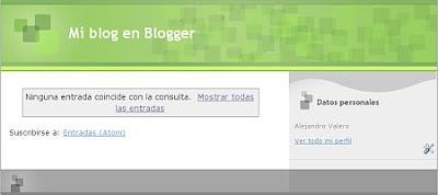 Cómo crear un blog en Blogger paso a paso y facil 7