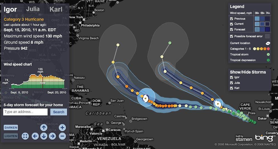 hurricane tracker