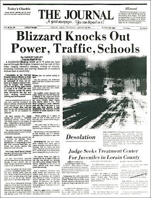 Brady S Bunch Of Lorain County Nostalgia The Blizzard Of 1978 Part 1