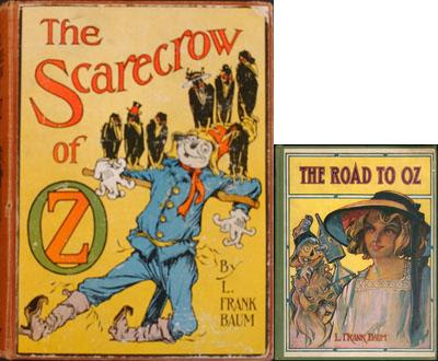 Scarecrow of Oz and Road to Oz