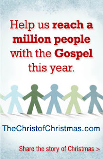 The Christ of Christmas Promotion from Tyndale House Publishers