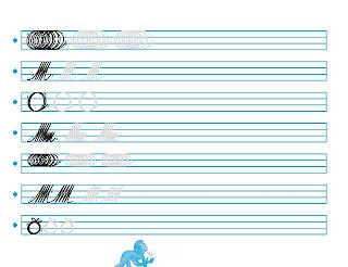 Caligrafia para imprimir lodijoella - Como mejorar la caligrafia ...