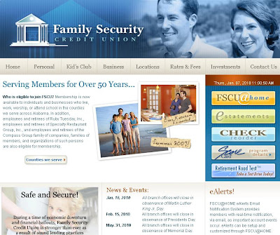 Information About Family Security Credit Union Website Www Myfscu Com