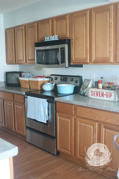 Our Nesting Place: My Kitchen Remodel