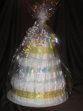 """""""Baby"""" 3 Tier Diaper Cake"""