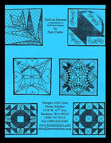 Quilt as Desired by Charlene Frable Quilting Quiltmaking Guide Book