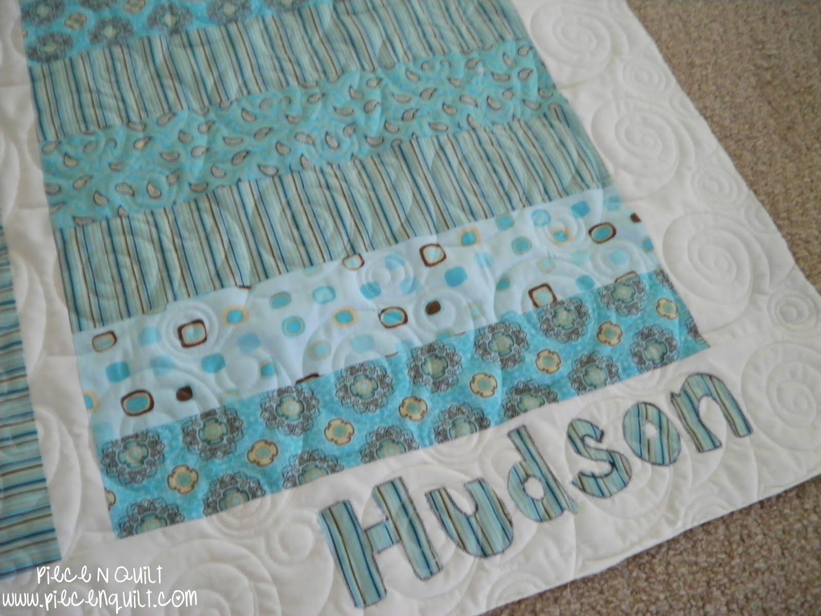 Piece N Quilt Baby Boy Quilts