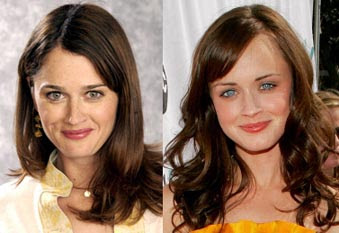 Robin Tunney and Alexis Bledel