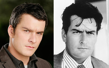 Balthazar Getty and Charlie Sheen