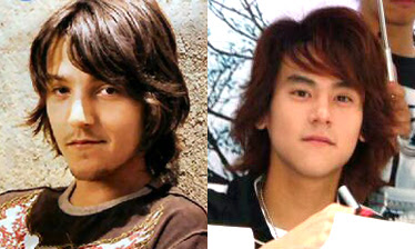 Diego Luna and Eddie Peng