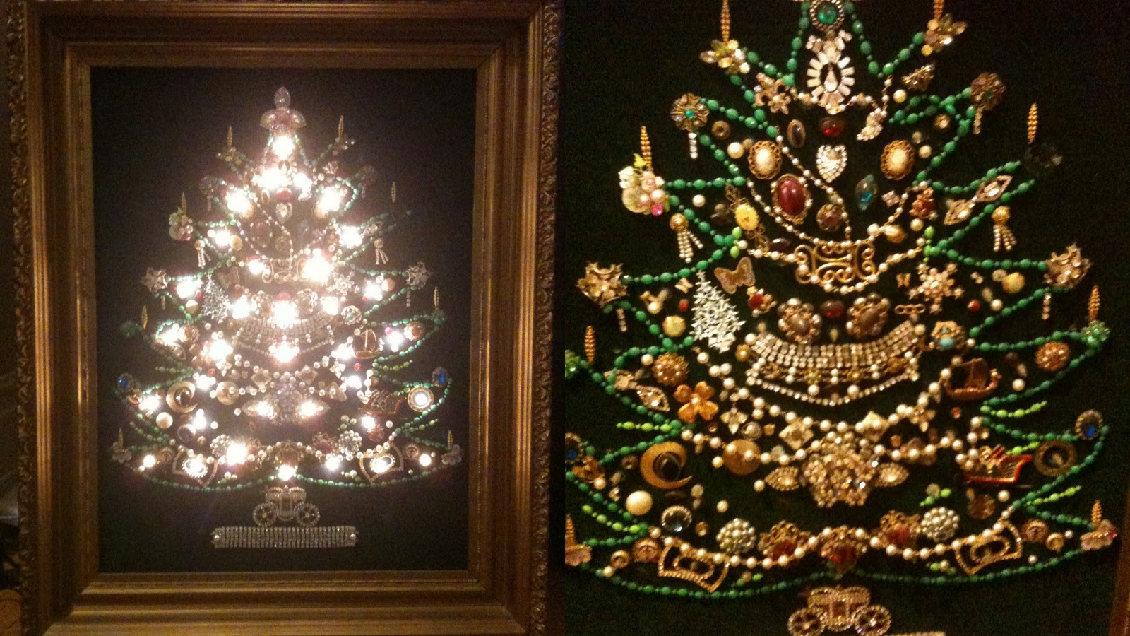 Jewelry Christmas Trees.Jewelry Christmas Tree