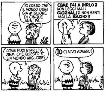 Immagini Natale Linus.Era La Mattina Di Natale Linus Snoopy E Charlie Brown