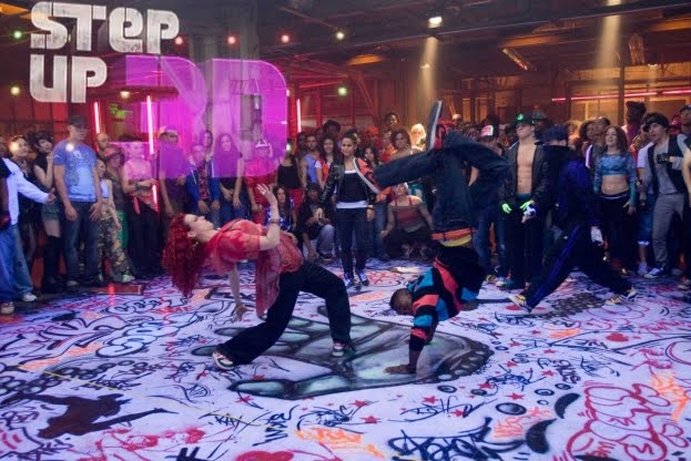 Step up 3d behind the scenes teaser trailer for 1234 get on the dance floor actress name