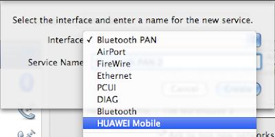 How-To: Connect HUAWEI E220/E270/E272/E169G/E160/E180 Modem