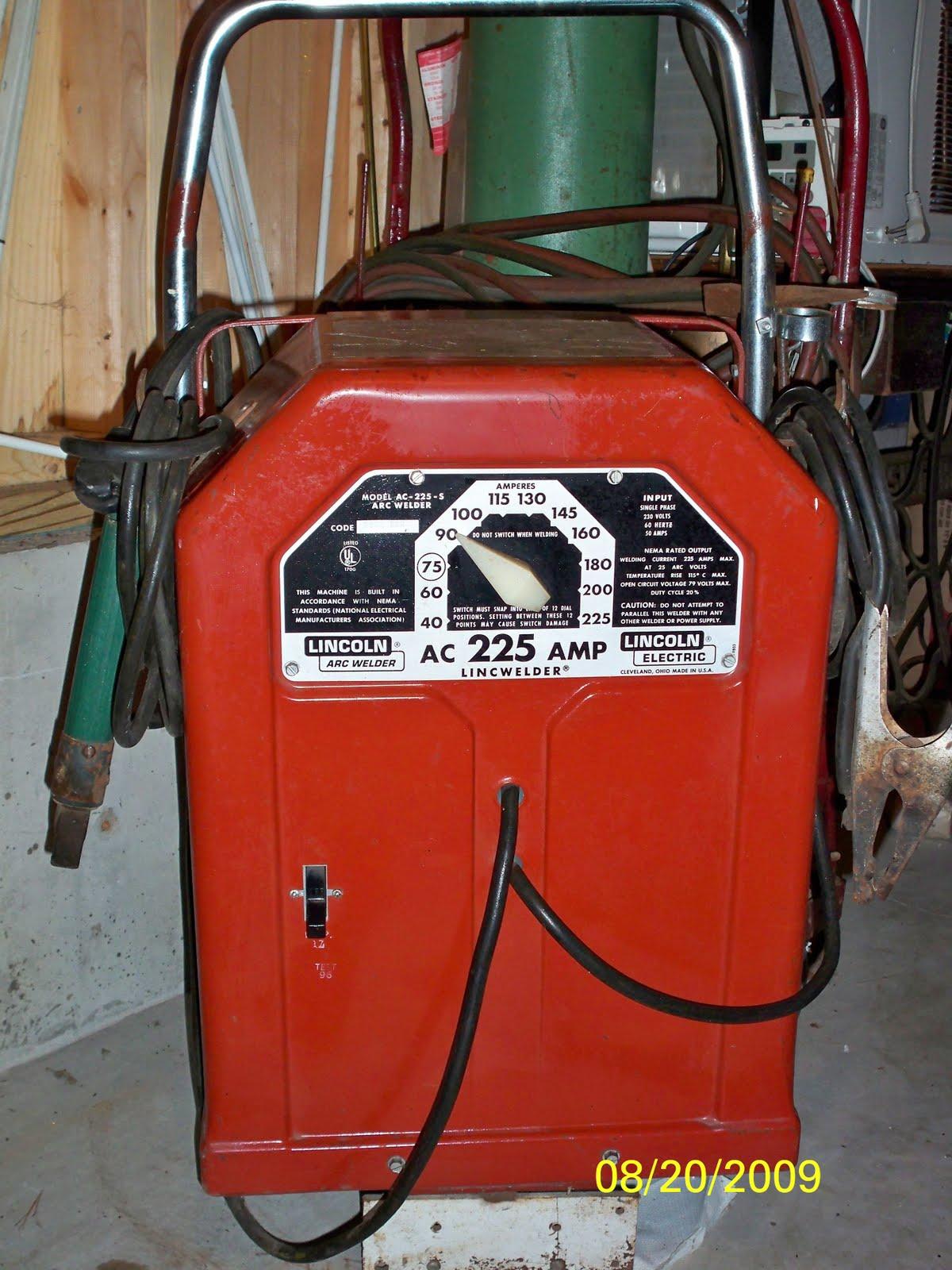 Lincoln 225 Ac Wiring Diagram Welder
